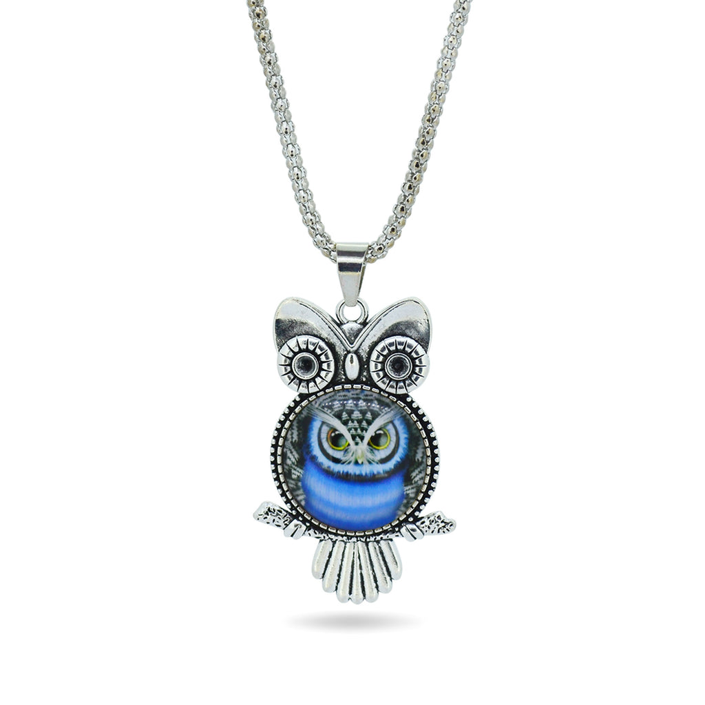 Fashion Jewelry Owl Pendant Necklace - CrazyPassionateAbout.com