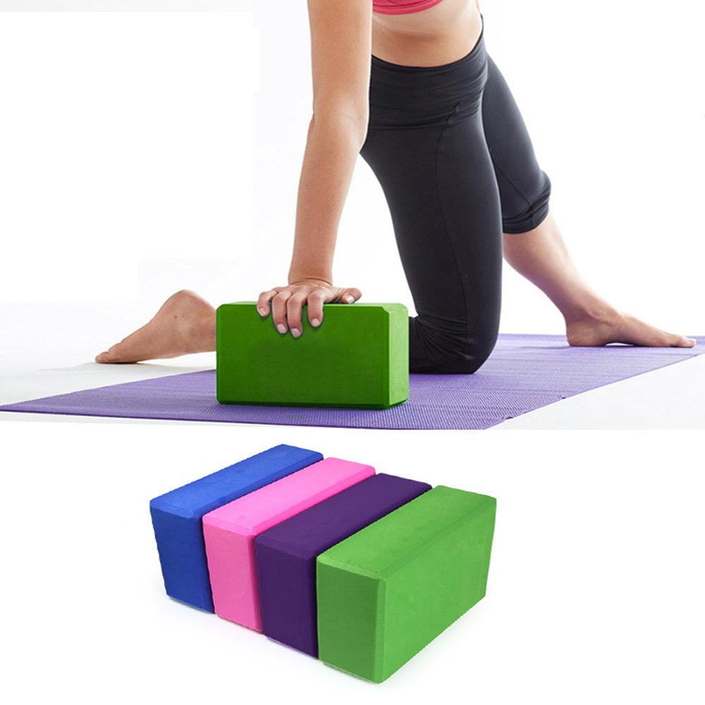 EVA YOGA FOAM BLOCKS FOR HOME EXERCISE FITNESS - CrazyPassionateAbout.com