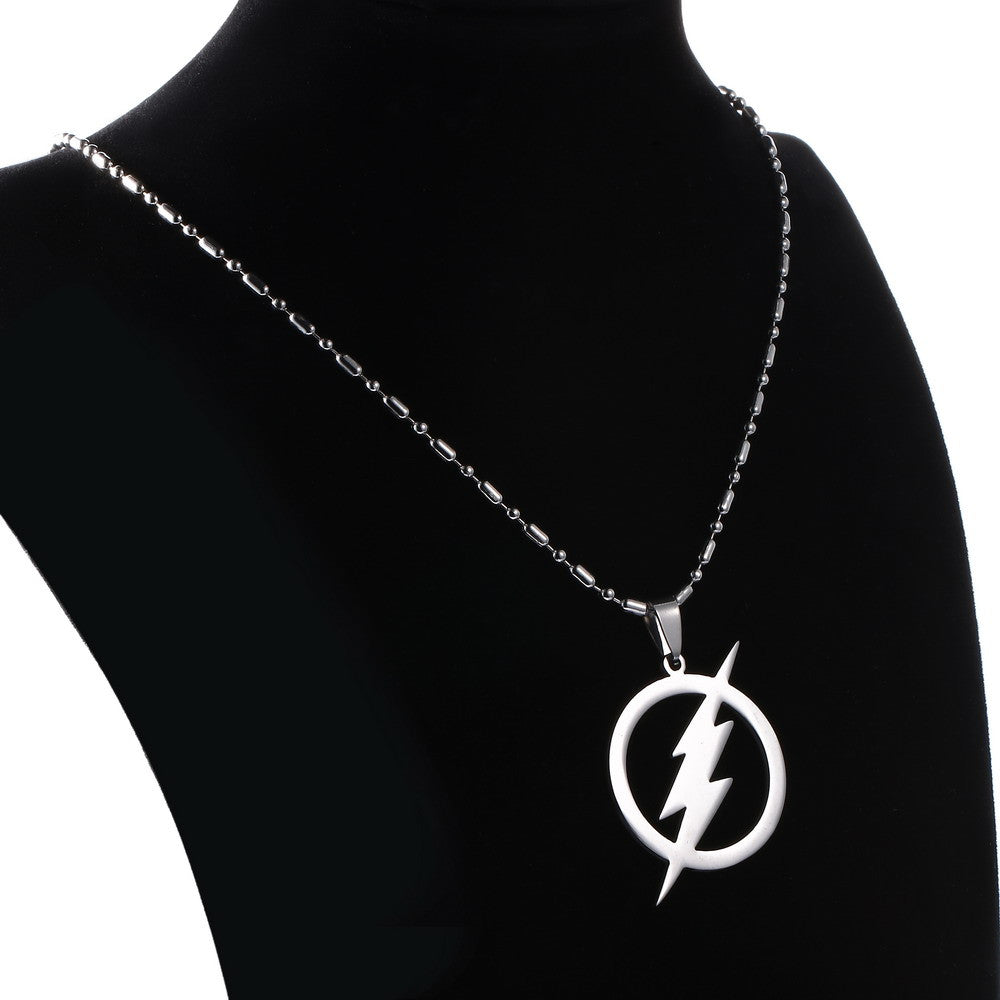 The Flash Thunder Stainless Steel Necklaces For Women & Men - CrazyPassionateAbout.com