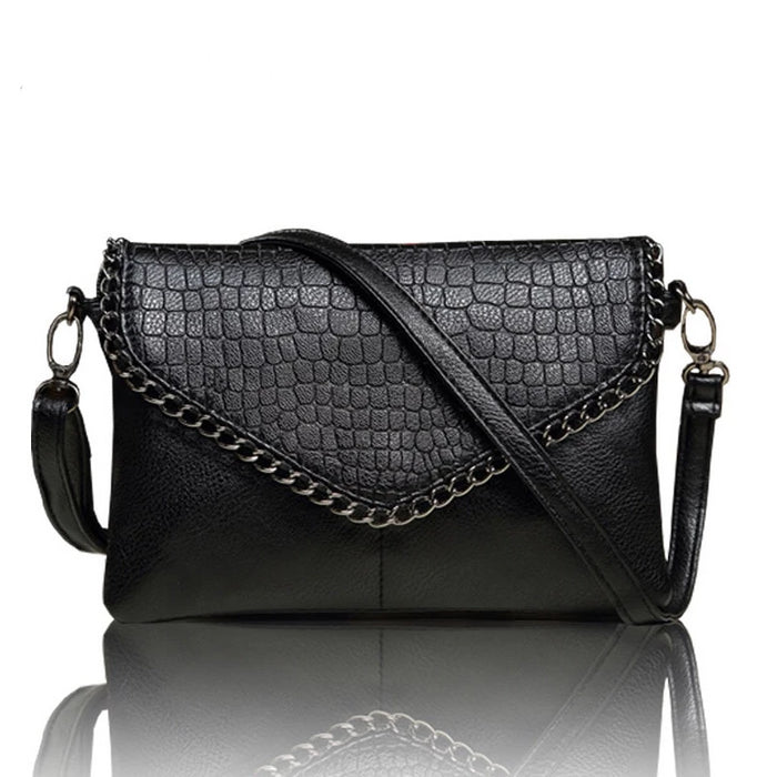 LYKANEFU Casual Small Bag for Women Messenger Bags for Women Shoulder Bags Crossbody Black Clutch Purse and Handbag Dollar Price - CrazyPassionateAbout.com