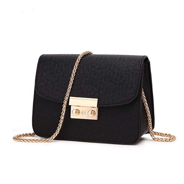 ACELURE Summer Brand Bags Women Leather Handbags Chain Small Women Messenger Bag Candy Color Women Shoulder Bag Party Lock Purse - CrazyPassionateAbout.com