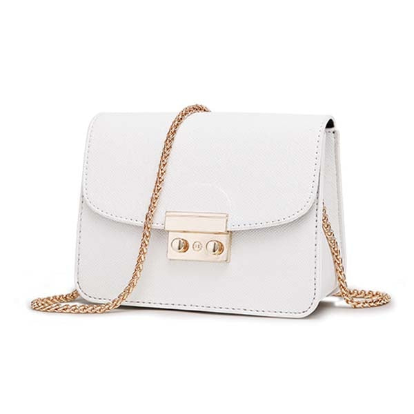 ACELURE Party Lock Leather Shoulder Messenger Purse For Summer For Women - CrazyPassionateAbout.com