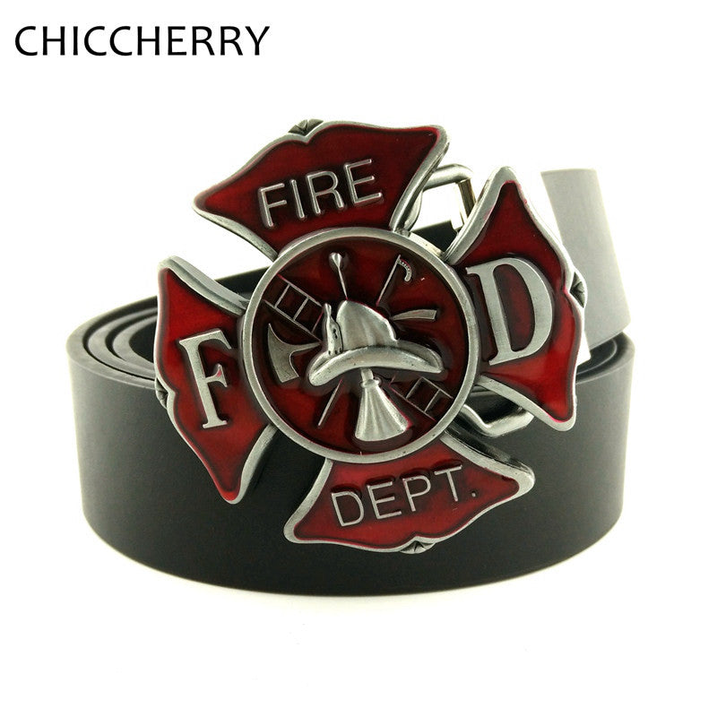 Fire Fighter Belt Buckle - CrazyPassionateAbout.com