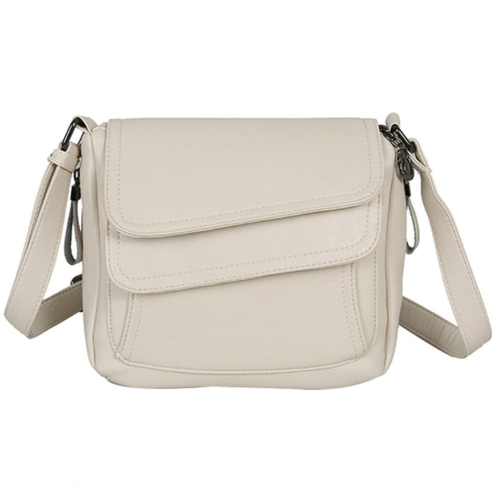 White Summer Bag Leather Luxury Handbags Women Bags Designer Female Shoulder Messenger Bag Mother Bags For Women 2019 Sac Femme - CrazyPassionateAbout.com