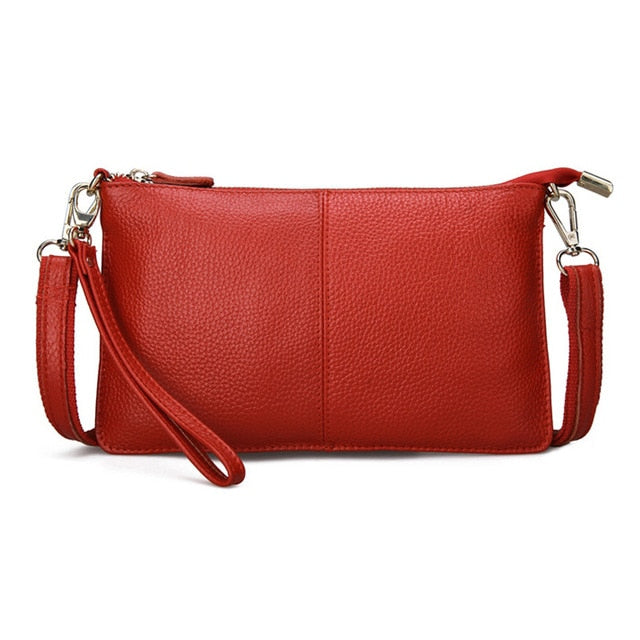 Genuine Leather Messenger Shoulder Bag For Women - CrazyPassionateAbout.com
