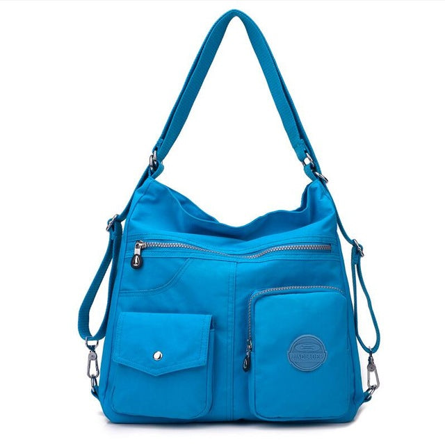 JINQIAOER New Waterproof Women Bag Double Shoulder Bag Designer Handbags High Quality Nylon Female Handbag bolsas sac a main - CrazyPassionateAbout.com