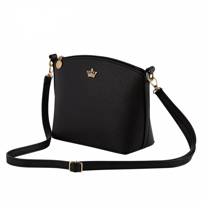 Small Imperial Crown Crossbody Shoulder Messenger Bag Party Purse For Women - CrazyPassionateAbout.com