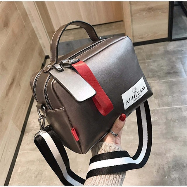 Large capacity luxury handbags women bags designer Double zipper solid color bags women hot sale bag female 2019 black women's - CrazyPassionateAbout.com