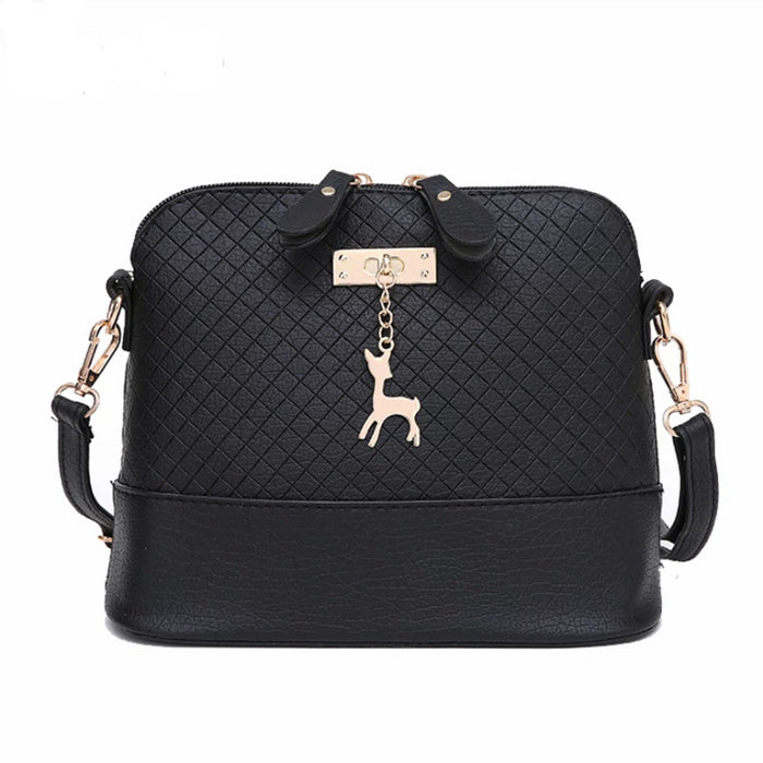 HOT SALE!2019 Women Messenger Bags Fashion Mini Bag With Deer Toy Shell Shape Bag Women Shoulder Bags handbag - CrazyPassionateAbout.com