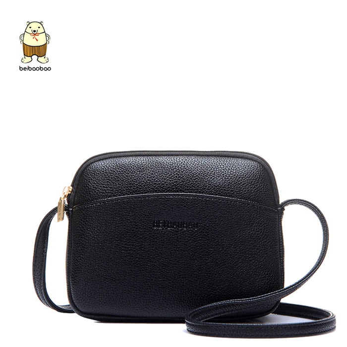 Beibaobao 2019 Hot Crossbody Bags For Women Casual Mini Candy Color Messenger Bag For Girls Flap Pu Leather Shoulder Bags - CrazyPassionateAbout.com