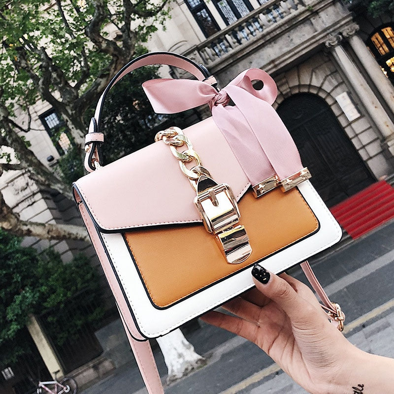 Mini Square Pack Crossbody Shoulder Messenger Bag With Package Clutch for Women - CrazyPassionateAbout.com