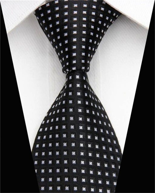 Geometric Tie Pattern - CrazyPassionateAbout.com