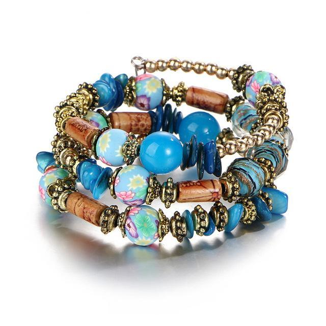 Bohemia Colorful Ball Bracelet - CrazyPassionateAbout.com