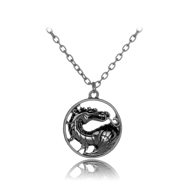 Mortal Kombat Dragon Necklace - CrazyPassionateAbout.com