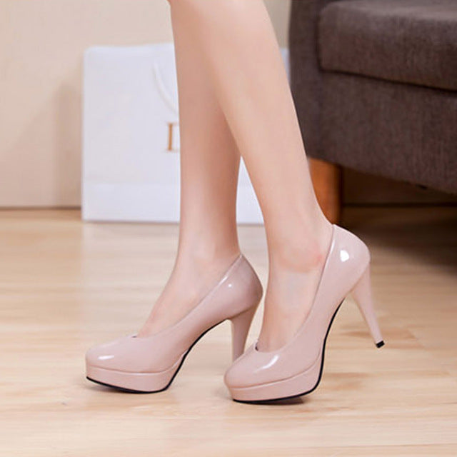 Solid Color Shallow Shoes - CrazyPassionateAbout.com