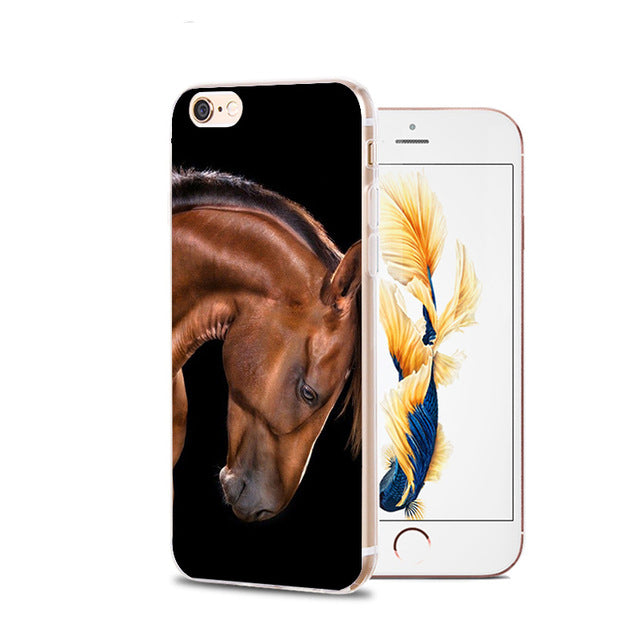 Horse Printed Case For iPhone - CrazyPassionateAbout.com