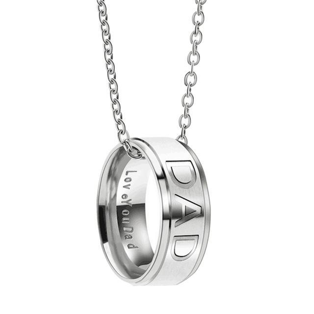 Love You Mom/Dad Necklace - CrazyPassionateAbout.com