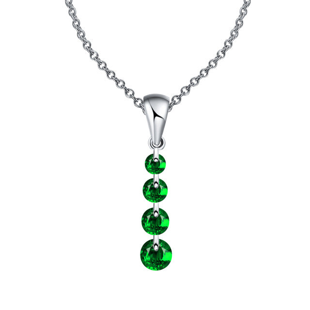 Crystal Long Water Drop Necklace - CrazyPassionateAbout.com