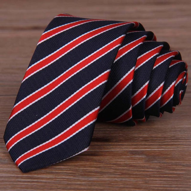 Narrow Men Neckties - CrazyPassionateAbout.com