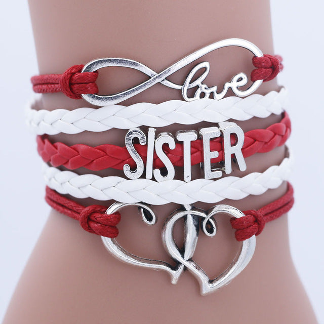 Infinity Love Letters Bracelets - CrazyPassionateAbout.com