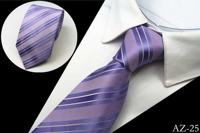 Business Striped Neck Tie - CrazyPassionateAbout.com