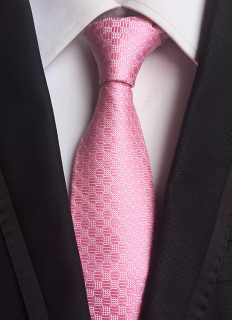 Striped Wide Necktie - CrazyPassionateAbout.com