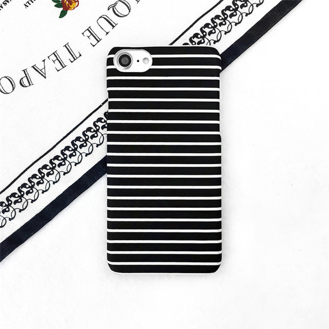 Black Stripes Hard Case - CrazyPassionateAbout.com