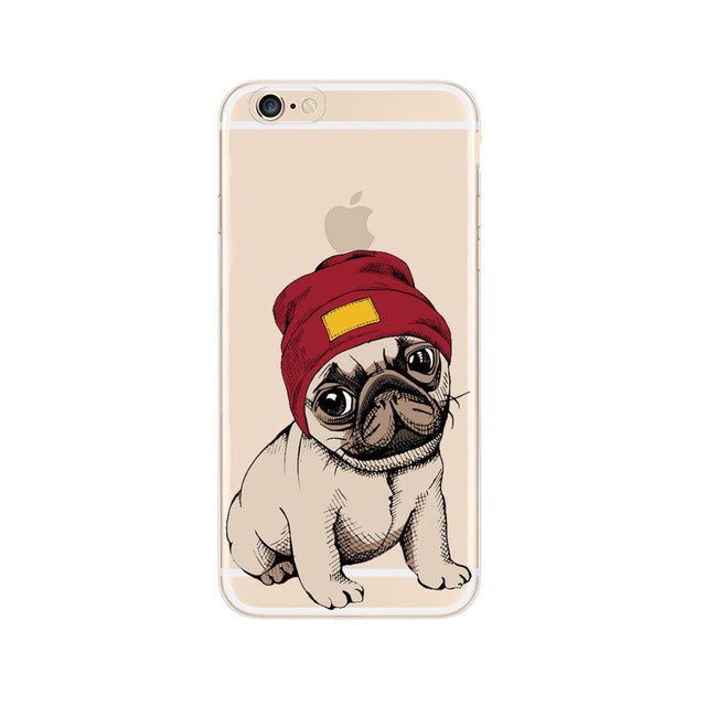 Cool Pug Case For iPhone - CrazyPassionateAbout.com