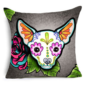 Chihuahua Pattern Pillow Case - CrazyPassionateAbout.com