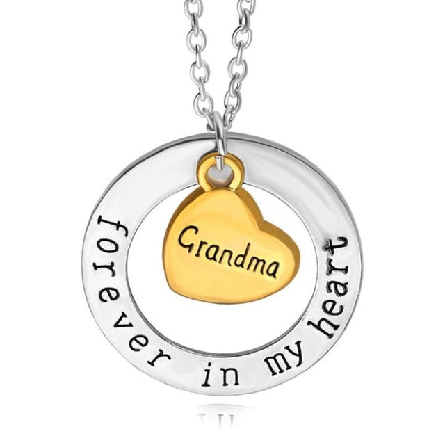 Family Forever In My Heart Necklace - CrazyPassionateAbout.com