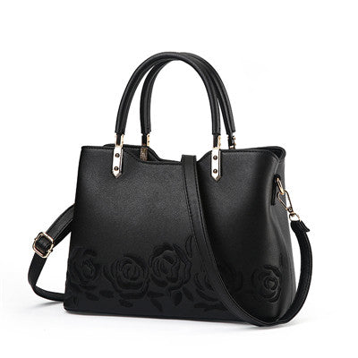 Embroidery Flower Handbag - CrazyPassionateAbout.com