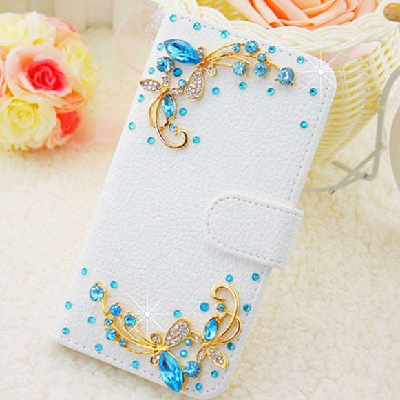 Rhinestone Wallet Case - CrazyPassionateAbout.com