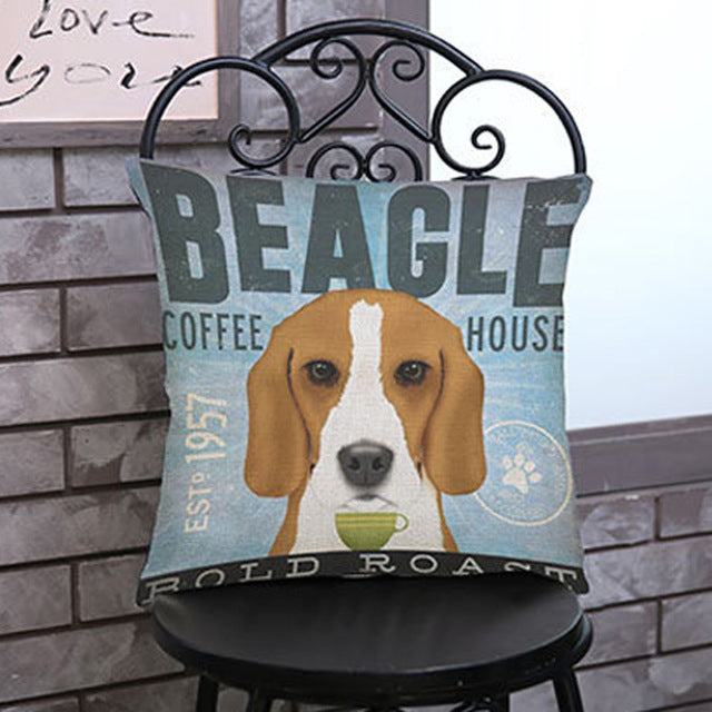 Beagle Printed Pillow Case - CrazyPassionateAbout.com