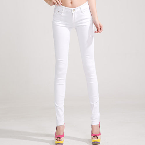 Candy Color Skinny Pants - CrazyPassionateAbout.com