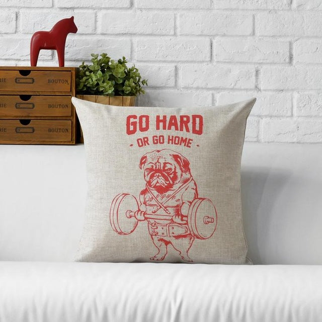 Pug American Style Pillows Case - CrazyPassionateAbout.com