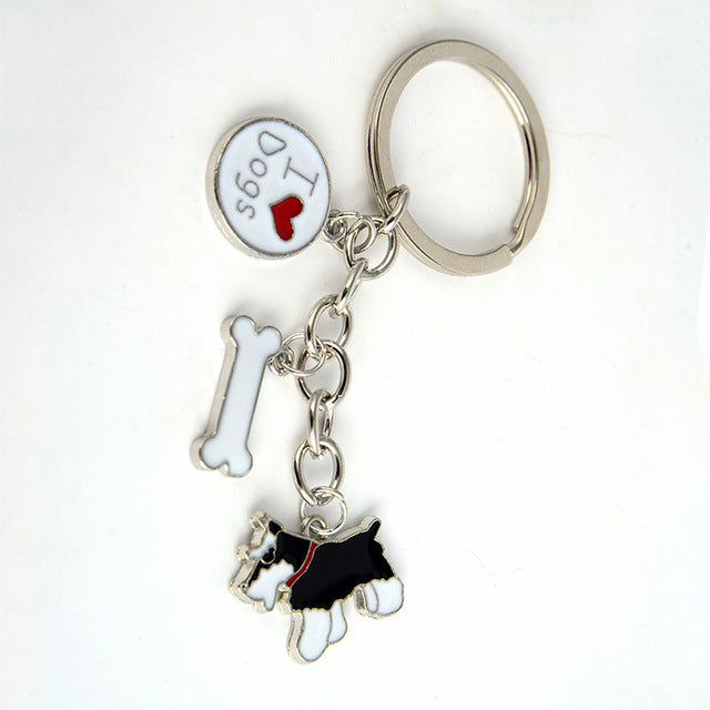 Dog Pendant Key Chains - CrazyPassionateAbout.com