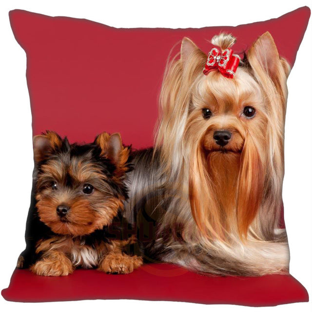 Yorkshire Terrier Soft Pillow Cases - CrazyPassionateAbout.com