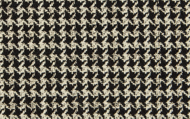 COUTURE HOUNDSTOOTH N.2 :: Bone/Black
