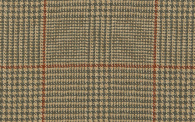 REVERSIBLE LIBRARY PLAID :: Paprika/Teal