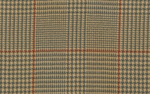 REVERSIBLE LIBRARY PLAID :: Sable/Mocha