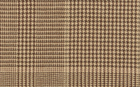 REVERSIBLE LIBRARY PLAID :: Sand/Taupe