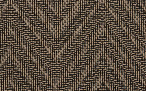 COUTURE HAUTE CHEVRON N.14 :: Onyx/Taupe
