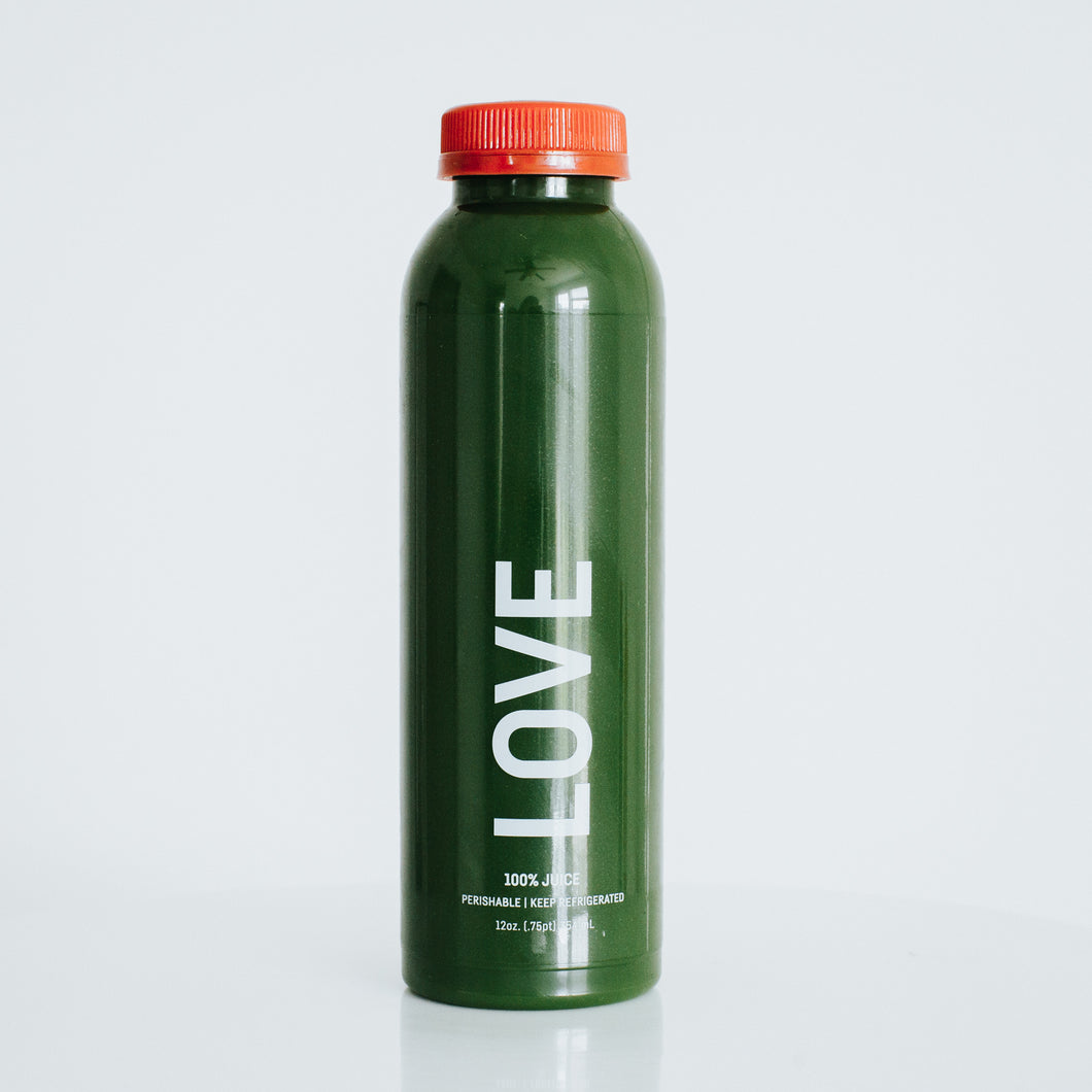 love. [kale, pear, spinach, cucumber]