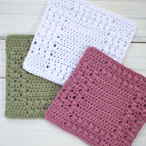 Cottage Dishcloth Pattern Set