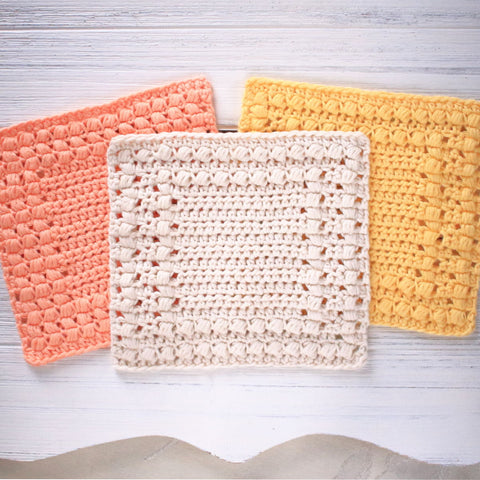Cottage Square Dishcloth