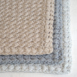 Crochet Pattern - Creek Pebbles Dishcloth and Hand Towel P114