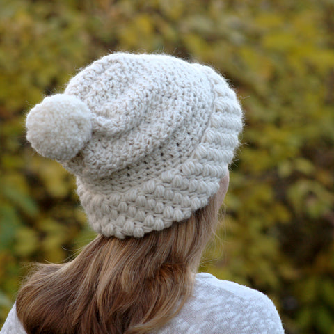 Crochet Pattern - Gathered Buds Hat P161