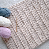 Crochet Pattern - January Snuggles Baby Blanket P128