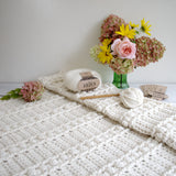Crochet Pattern - Sweet Haven Baby Blanket P124