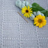 Crochet Pattern - Nursery Patch Baby Blanket P125